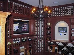 click to watch videos of coastal wine cellar projects on youtube cellar lighting