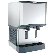 countertop ice machine 1 meridian water cooled ice machine and water dispenser lb bin storage countertop ice machine