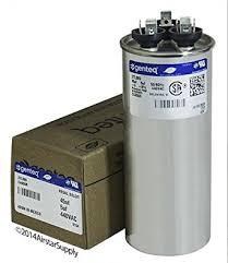 lennox ac compressor. 100335-12 - 45 + 5 uf mfd 440 volt vac lennox round dual ac compressor c