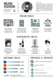 resume for graphic designers examples of creative graphic design resumes design skills