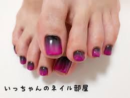 ピンク黒ネイル 鶴ヶ峰ネイルサロン いっちゃんのネイル部屋 鶴ヶ峰
