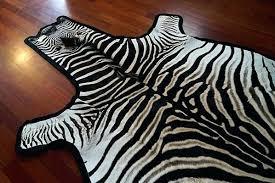 zebra skin rug zebra skin rug felted zebra skin rug grade a faux zebra skin rug