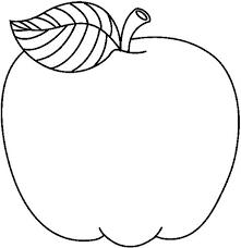 Manzanas Para Colorear Manzana Redondita Dibujalia Dibujos Para Colorear