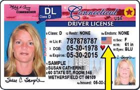Adds Driver's Designation Veteran's Connecticut To License State