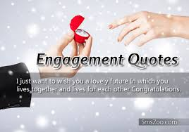 Engagement Quotes and Greetings for Friends and Family via Relatably.com