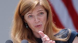 Image result for Samantha Power at the UN General Assembly