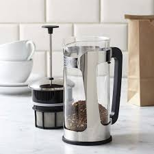 espro p5 glass french press stainless steel