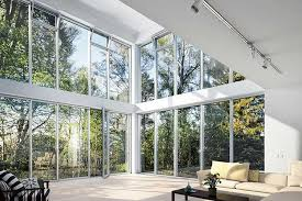 aluminium curtain walling dramatic
