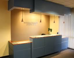 law office interior design. reception area w custom desk u0026 signage law office interior design