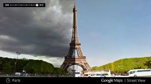 with google maps, it's now possible to travel through time Google Maps Travel Time what a difference a day makes at the eiffel tower, images of stormy skies in june 2012 and sunny weather in august 2013 (google) google maps travel time in seconds