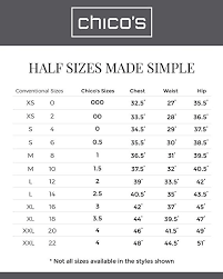 So Slimming By Chico S Size Chart Chicos Womens So Slimming Girlfriend Crop Jeans