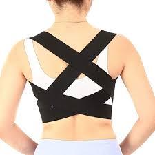 Equifit Shoulders Back Size Chart Shoulder Back Support Belt Waist Brace Adjustable Posture Corrector Pain Relief Elastic Belts For Women Men