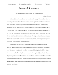 undergraduate personal statement essay examples co undergraduate personal statement essay examples