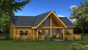 The Wateree Iv Is One Of The Many Log Cabin Home Plans From