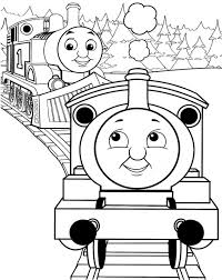 You can see thomas with the town's folks celebrating certain holidays such as christmas and halloween. Simple Thomas The Train Coloring Pages Thomas The Train Coloring Pages Hunro Coloring Pages Train Coloring Pages Coloring Books Truck Coloring Pages