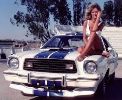 Farrah Fawcett & the 1976 Ford Mustang Cobra II from Charlies ...