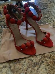 Alaia Size Chart Azzedine Alaia Bomb Sandals Suede Black Size 6 7 8 9 10 11