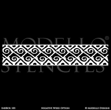 navajo designs patterns. Tribal African Southwest Navajo Pattern - Border Designs Geometric Custom Stencils For Decorating Patterns N