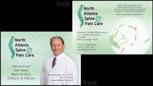 Postcards Announcements Medical Practice Web Site Design