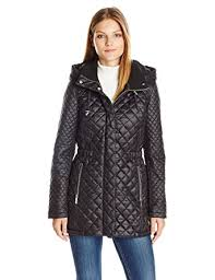 French Connection Women's Quilted Anorak with Hood at Amazon ... & French Connection Women's Quilted Anorak Jacket with Hood, Black, ... Adamdwight.com