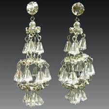 clip on chandelier earrings crystal chandelier clip earrings clip on chandelier earrings