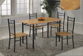new ideas metal dining tables room and chairs on steel