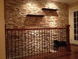 stone veneer interior walls wall decor natural panels for decoration ideas design indoor faux interesting accent