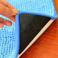 4pairs rug carpet mat grippers non slip anti skid reusable grip convenient