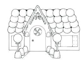 Gingerbread House Coloring Pages Inspirational Free Adult Coloring