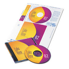 Avery Labels Dvd Cd Dvd Label And Insert Combo Sheets By Avery Ave8696