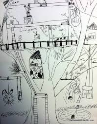 how to draw a treehouse step by step. Plain Draw Photo Feb 16 5 55 59 PM Throughout How To Draw A Treehouse Step By