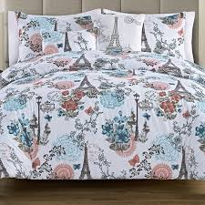 eiffel tower and fl comforter