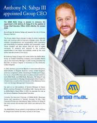 ANSA CEO APPOINTMENT AD 2019 (2) - ANSA McAL