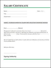 Pay Raise Letter Template Sarahepps Com