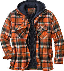 Maplewood Hooded Shirt Jacket | Legendary Whitetails & Then you'll love this soft washed 100% cotton yarn-dyed flannel hooded  shirt jac. Featuring quilted satin lined body and sleeves with 130 gm of ... Adamdwight.com