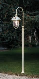 garden lamp post. Garden Lamppost / Contemporary Metal LED - BARI : A303 Lamp Post U