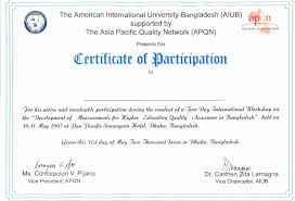 Ideas For International Conference Certificate Templates Of Service