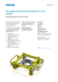 Dnv Padeye Design Calculation Project X Tac Frame Kaiwan