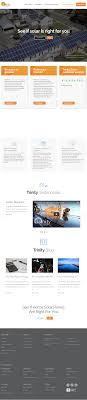 trinity solar website history