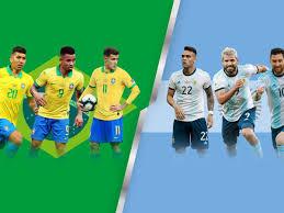 معلق مباراة الأرجنتين والبرازيل والقنوات الناقلة في نهائي كوبا أمريكا 2021  - الدوري الإنجليزي بالعربي