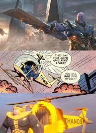 Thanos creator Jim Starlin said Thanos ...