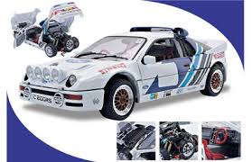 ford works ricko 32121 ford rs200 diecast model rally car ford works rally team
