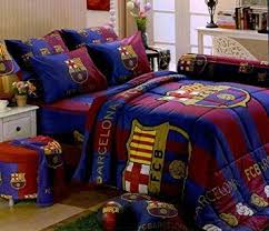 get quotations barcelona football club official licensed bedding in bag set queen size bc001 1 barcelona bedroom