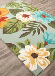 new outdoor throw rugs x designer tropical coastal palms blue indoor outdoor area rug outdoor rugs