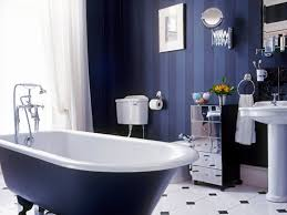 Bathroom : Navy Blue Bathroomdeas Dark Brown Vanity Cabinet White ...