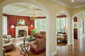 living room color ideas. This Room Uses A Painted Wall To Give Very Warm And Welcoming Appearance Living Color Ideas