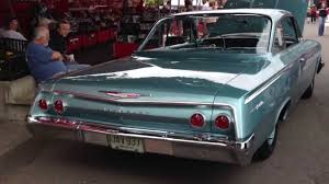 1962 Chevrolet Bel Air Bubble top 409 big block four speed - YouTube