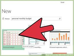 Excel Bill Tracker Template How To Track Your Bills In Microsoft Excel 13 Steps