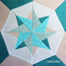 247 best paper piecing quilt patterns images on Pinterest | Quilt ... & Woven Star Block photo, paper piecing, pattern and tutorial Adamdwight.com