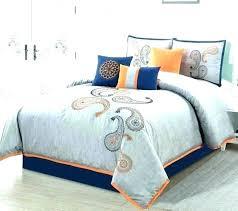 orange california king comforter sets bed in a bag burnt rose tree burnt orange and grey comforter set burnt orange and grey comforter set